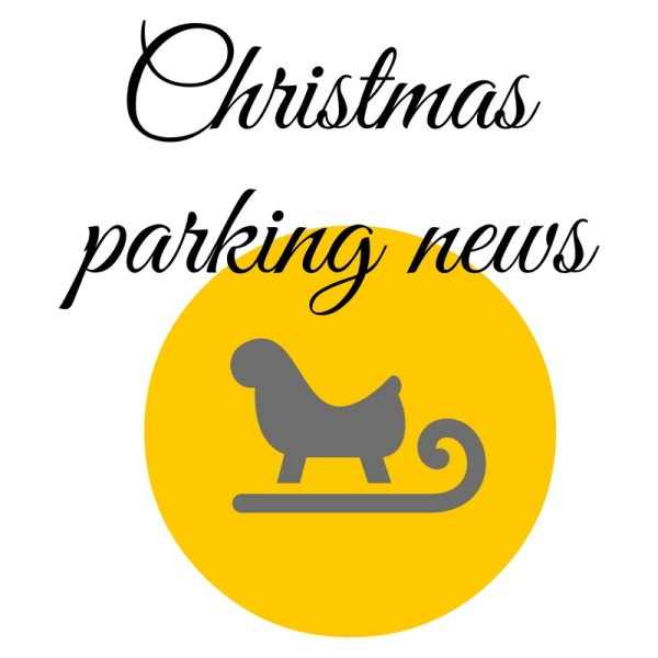 Christmas parking in Frome