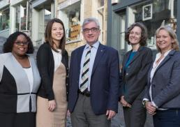 Two new faces join Harris+Harris Solicitors' Frome office